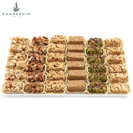 Assorted Nuts With Honey Delight: حلويات عربية أون لاين