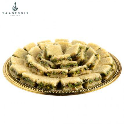 Assorted Pistachio Crystalline Delight: حلويات عربية أون لاين