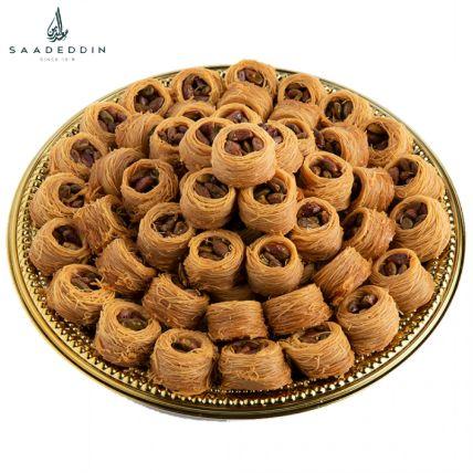 Assorted Pistachio Nightingale Nest Delight: حلويات عربية أون لاين