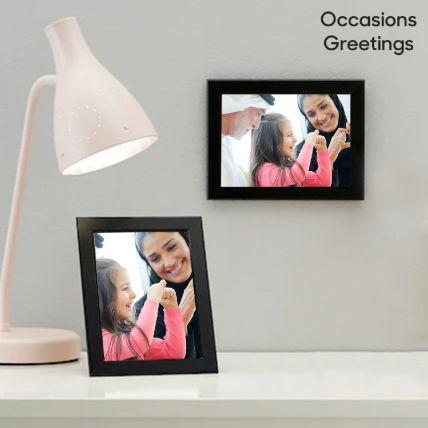 Black Classy Photo Frame: إطارات صور أون لاين