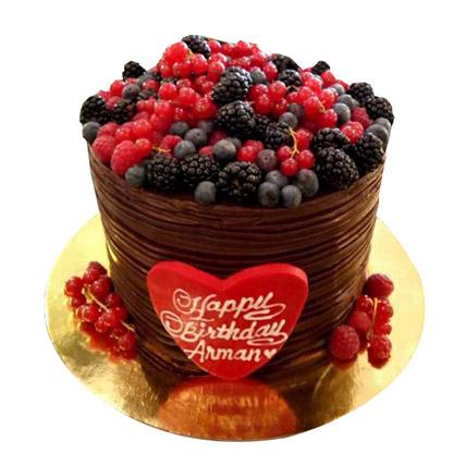Blackberries Cake: كيك بتصميم خاص اون لاين