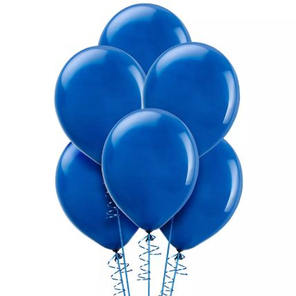 Blue Helium Balloons: Online Gifts For Boys & Girls