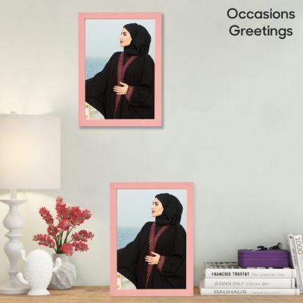 Classy Light Pink Photo Frame: