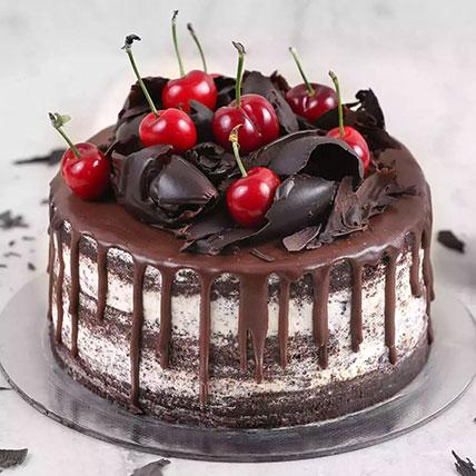 كعكة بلاك فورست الرقيقة: محل هدايا الدمام أون لاين