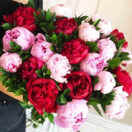 Evening Glory Peonies Bunch: Peonies Bouquet