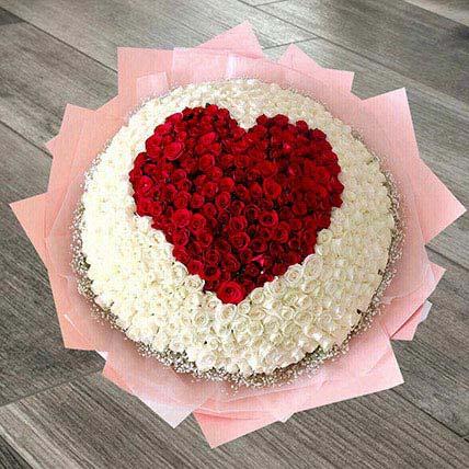 Heart Arrangement Of 400 Roses: هدايا هووسورمينغ جيدة أون لاين