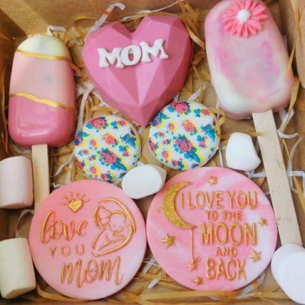 Love You Mom Goodies Box: Pinata Cakes Online