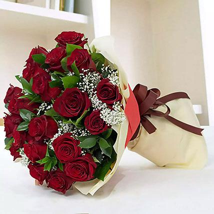باقة الورود الحمراء الجميلة: زهور أون لاين في السعودية