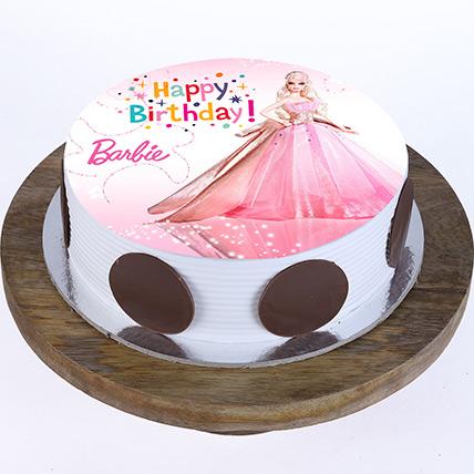 Princess Barbie Cake: كيك باربي أون لاين