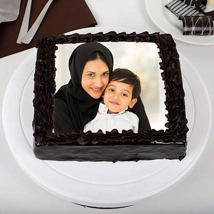 كيكة الصور بالشوكولاتة الغنية: أفضل هدية للزوجة أون لاين