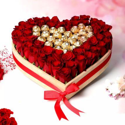 خذني إلى قلبك: هدايا يوم الشوكولاتة أون لاين