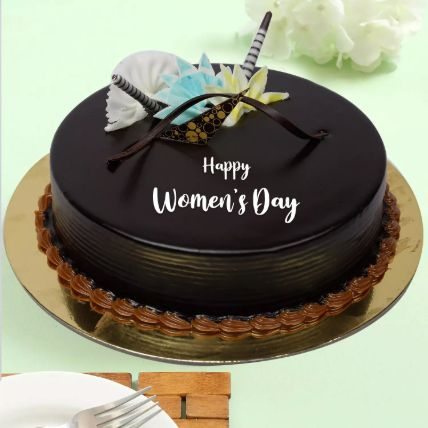 كيكة يوم المرأة الخاصة بالشوكولاتة: هدايا يوم المرأة العالمي