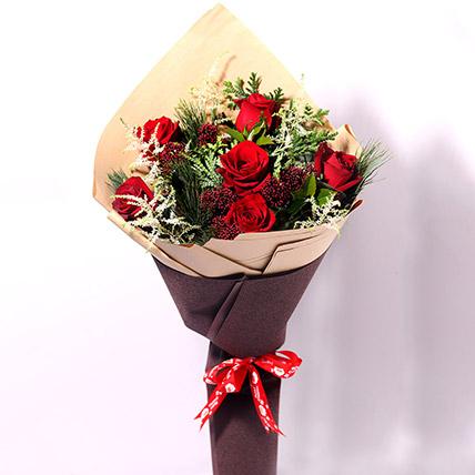 Xmas Special Flower Posy: هدايا الكريسماس أون لاين
