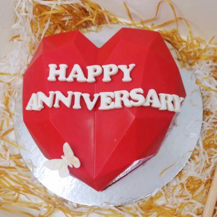 Anniversary Pinata Cake