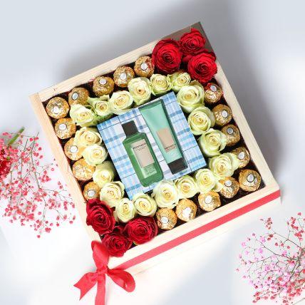 Beautiful Valentines Day Love Hamper