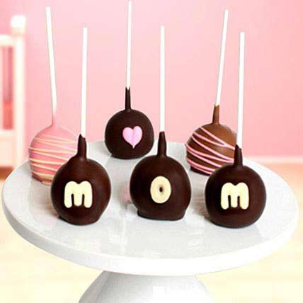 Belgian Cake Pops For Mom