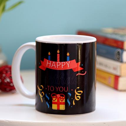 Birthday Candles And Gift Mug