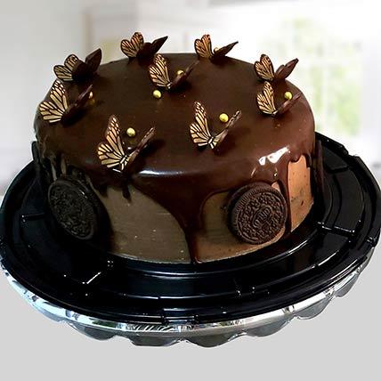 كيكة بلاك فورست بالشوكولاتة