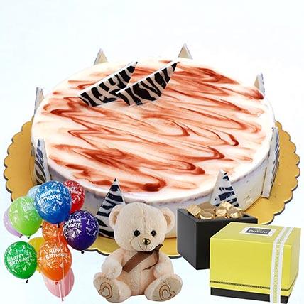Chocolate Cake & Chocolates Combo