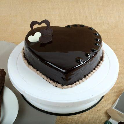 كيكة  قلوب الشوكولاتة 1 كجم