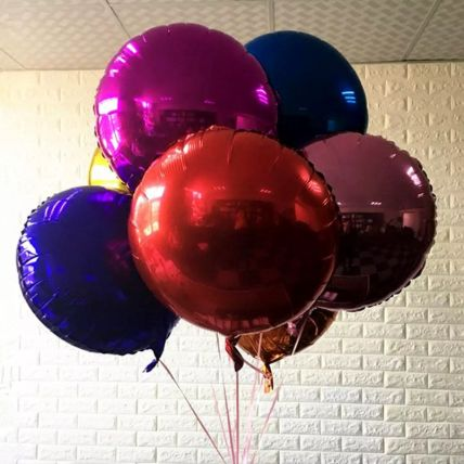 Colourful Foil Balloons