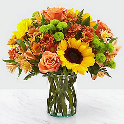 Colours Of Life Flower Vase