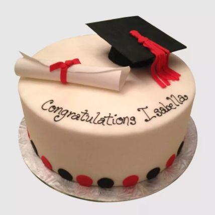 Congratulatory Graduation Cake 1.5 Kg