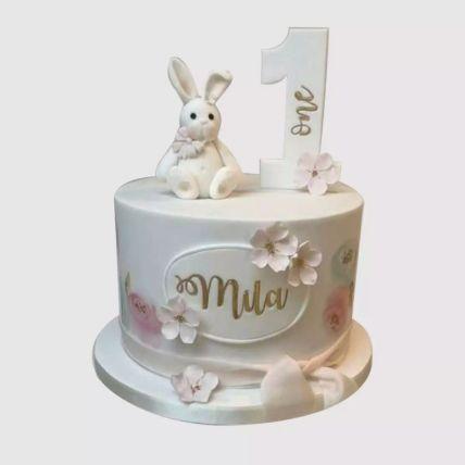 Cute Bunny Cake 2 Kg