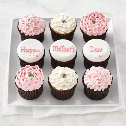 Cute Happy Mothers Day Cupcakes