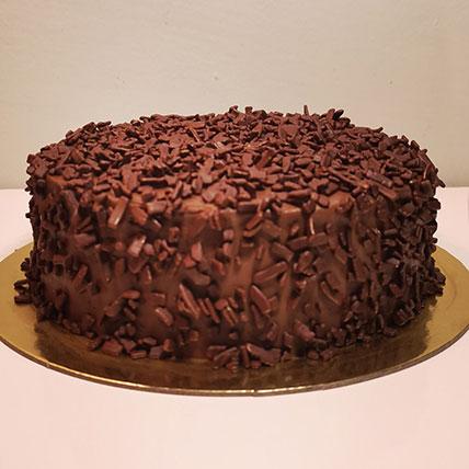 كيكة الشوكولاتة اللذيذة- نصف كجم