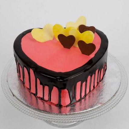 Delicious Hearts Cake 1.5 Kg