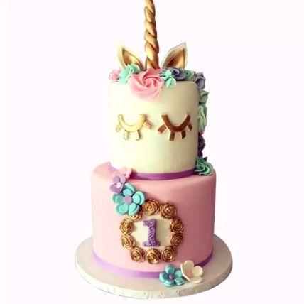 Designer Unicorn Red Velvet Cake 1.5 Kg