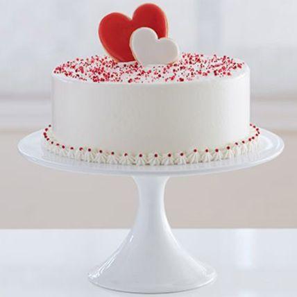 Elegant Love Vanilla Cake Half Kg