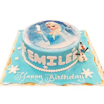 Elsa The Frozen Princess Cake