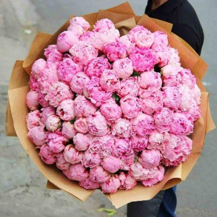 Everlasting Love Peonies Bouquet