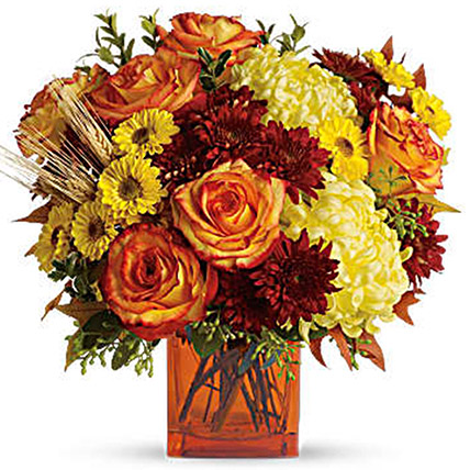 Exotic Mixed Floral Vase
