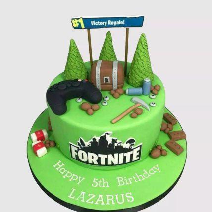 Fortnite Victory Royale Red Velvet Cake 2 Kg