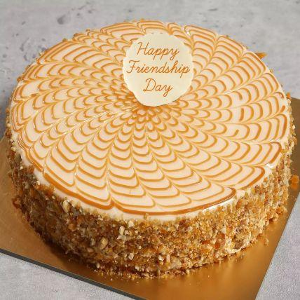 Friendship Day Butterscotch Cake Half Kg