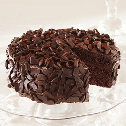 كيكة الشوكولاتة المجمدة نصف كيلو