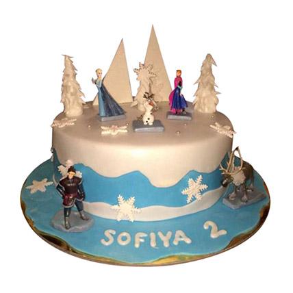 Frozen Retold Cake
