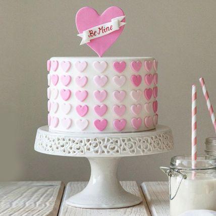 Graceful Love Chocolate Cake Half Kg