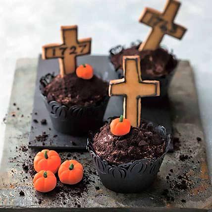 Graveyard Cup Cakes 6 Pcs