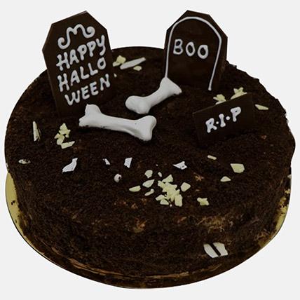 Graveyard Theme Halloween Cake 1Kg