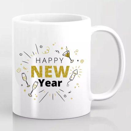 Happening New Year Greetings Mug