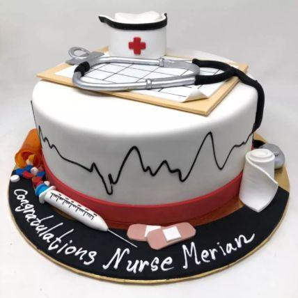 Happy Graduation Doctor Cake 1.5 Kg