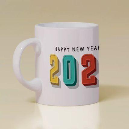 Happy New Year 2021 Mug