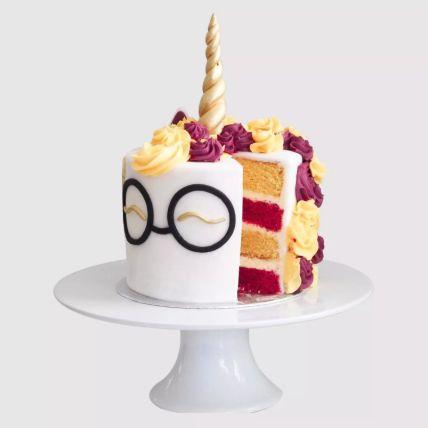 Harry Potter Unicorn Red Velvet Cake 1 Kg
