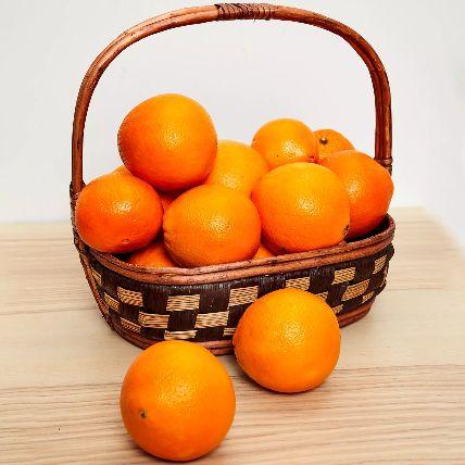 Healthy Basket Of Oranges