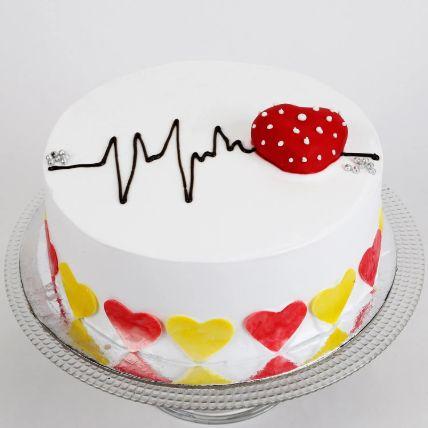 Heart Beat Chocolate Cake 1 Kg