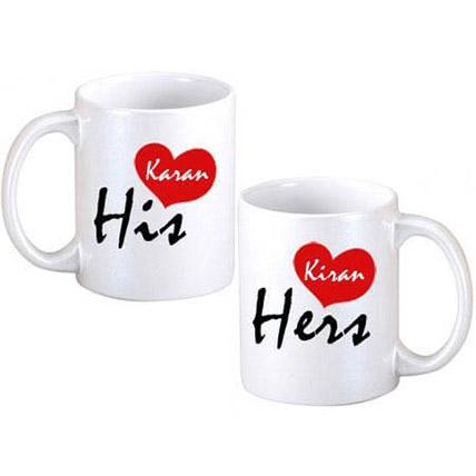 His N Hers Coffee Mugs